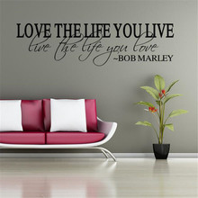 IDFIAF Love your life wall stickers diy home decoration poster child bedroom bedroom home decoration wallpaper