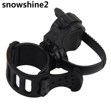 snowshine2 #3001  360 Degree Cycling Bicycle Bike Mount Holder for LED Flashlight Torch Clip Clamp  free shipping wholesale
