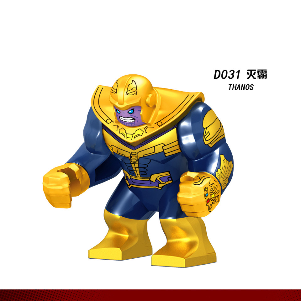 Legolingly Super Heroes Thanos Black Dwarf Figure Set Thanos Infinity Glove Building Blocks Marvel Blocks Set Toys for Children (1)