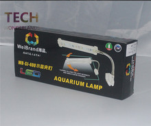 Aquarium clip on LED light fish tank mini aquatic plants lamp blue and white 4W/8W/12W marine aquarium crystal Lighting