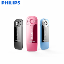 PHILIPS 2017 Newest Arrival MP3 Player Three Colors for Choose supports FM Radio + LRC + AB Repeat + OTG phone Song Transmission