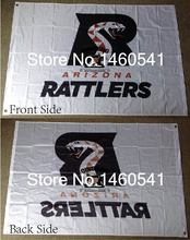 Arizona Rattlers Flag 3ft x 5ft Polyester Arena Football League AFL Banner Flying Size No.4 144* 96cm QingQing Flag(China)