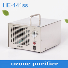 1PC 3.5-7.0G Stainless steel adjustable ozone purifier for home and industry air purifying and sterilizing machine(China)