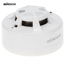 KKmoon Photoelectric Smoke Detector Alarm System Security Home Wireless Fire Smoke Sensor Alarm
