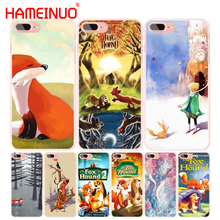 HAMEINUO The little prince and the fox cell phone Cover case for iphone 6 4 4s 5 5s SE 5c 6s 7 8 plus X(China)