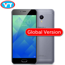 Original MEIZU M5S 3GB 16GB 32GB Global Version MTK6753 Octa Core Cell Phone 5.2 inch screen 1280*720 IPS BLUETOOTH GPS GRAY(China)