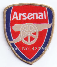 Free Shipping ~ Lovely FC Football Club cannon Embroidered Iron On Patch ~ can be sewed ~ DIY accessory Applique