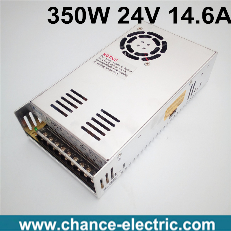 (S-350-24) IP20 Constant voltage AC to DC 350w 24v switching power supply dc regulated power supply 350w free shipping<br><br>Aliexpress