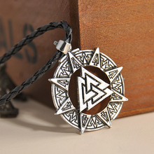 "New Arrival 5 Style Trinity Pewter Pentagram Star Celtic Solar Cross/Knot Trinity Knot Trinity Pendant 20"" Choker Necklace(China)"