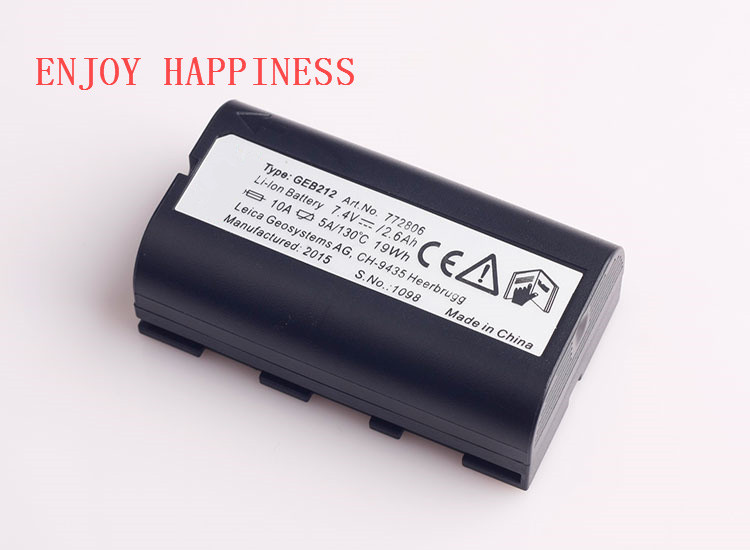 GEB212  Recharger Battery For Leica Surveying Instruments<br><br>Aliexpress