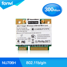 AzureWave AW-NU706H RT3070L 300Mbps Wifi 802.11 b/g/n Wireless Half Mini PCI-e Card laptop network notebook wlan