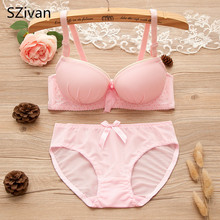 SZivan Cute girl's bra Training bra for girls Comfortable underwear for high school students(China)