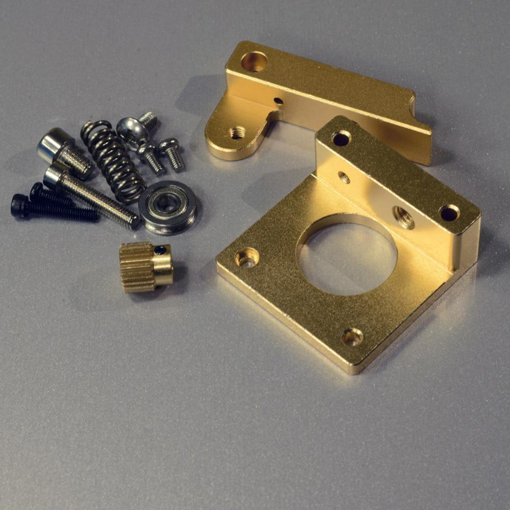 All Metal Direct Drive Extruder DIY Upgrade Kit for RepRap 3D printer Prusa i3<br><br>Aliexpress