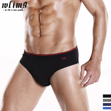 Mens Briefs 100%Cotton Hight Quality Men's Underwear Homme Briefs Breathable Panties Mens Sexy Comfortable Underpants Men Briefs(China)