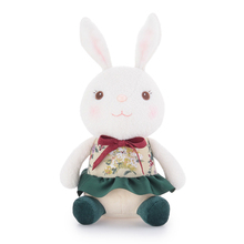 2017 New Metoo Colorful Bunny Cute Stuffed Cartoon Bunny Design Sitting Position Baby Plush Toy Doll Daughter Birthday Gift