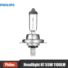 Philips H7 12972PRC1 55W 1100LM Standard Car Headlights Auto Front Bulb Automobiles Headlamp Haloge Car foglight Light Bulbs(China)
