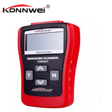 KONNWEI New Car Repairing Tool KW807 OBD2 Scanner Car Computer Vehicle Diagnostics Tool GS500 Auto Code Reader Scanner(China)