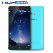 Blackview E7S Smarthone 5.5 inch 1280x720 IPS HD MTK6580A Quad Core Android 6.0 2GB RAM 16GB ROM 8MP 3G Fingerprint Cellphone