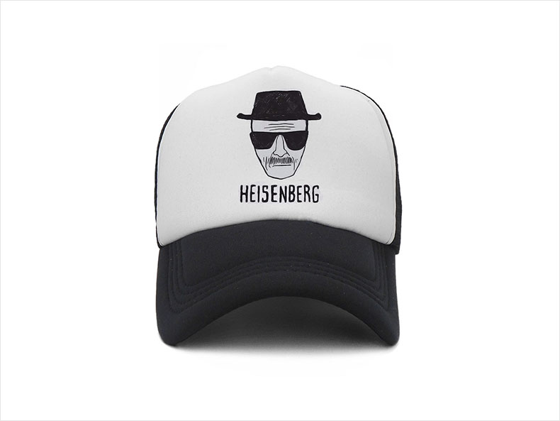 Adjustable Cotton Floral Baseball Cap Unisex Hat Breaking-Bad-heisenbergs