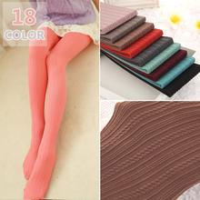 W783 160D Autum Winter Necessary Thick Velvet Tights Women Sexy Pantyhose Stripe Leg Warm Free Shipping 18 colors(China)