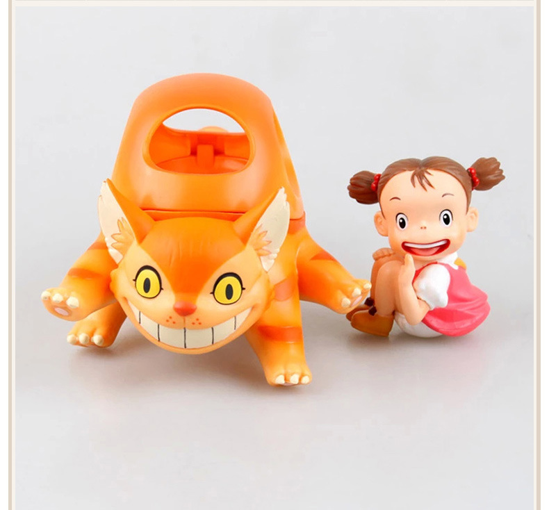 NEW hot 10cm 2pcs/set Ha yao My Neighbor Totoro grass Walled action figure toys doll collection Christmas gift toy<br>