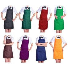 Hot Sale Women's Fashion Easy to Clean Apron with Front Pocket for Chefs Butchers Retail/Wholesale  7K5G