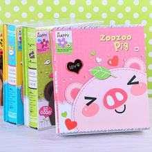 5inch  7inch Cartoon Photo Album Storage  Picture Paper Material Best Gift For Kid  Photo Album Supplier Free Shipping