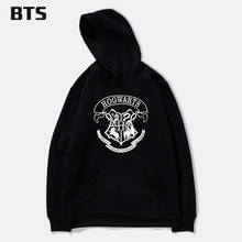 BTS Hogwarts Men Hoodies And Sweatshirt Cool And Fashion Clothes HOGWARTS Streetwear Hogwart Deathly Hallows For Men Fleece