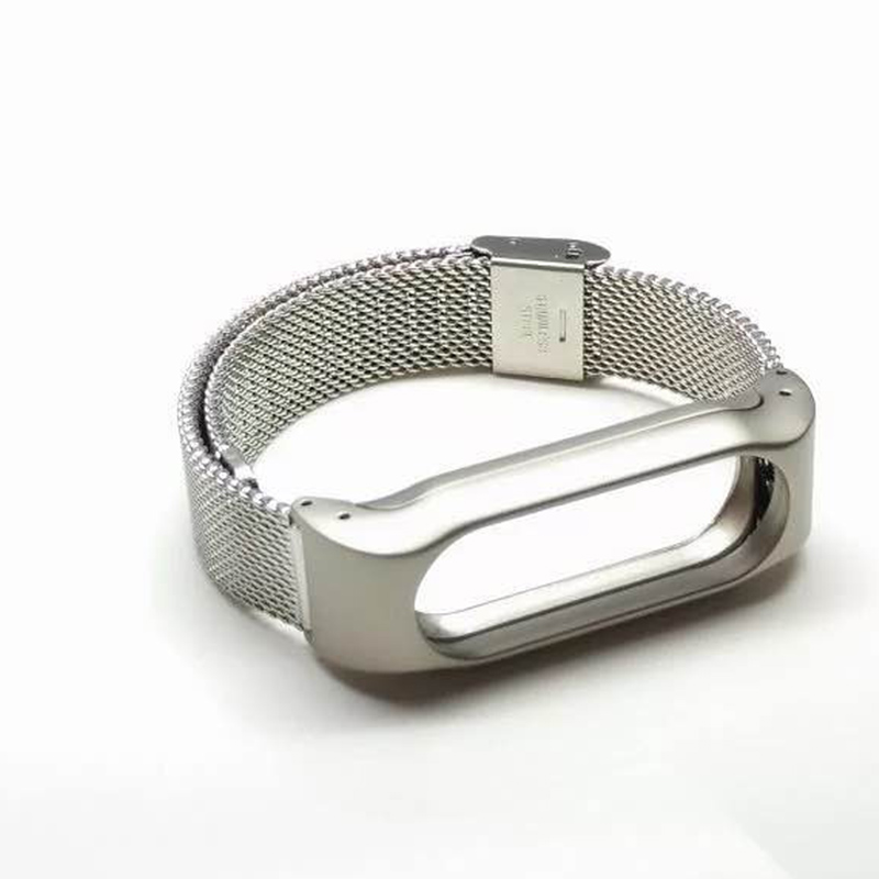Stainless Steel Replacement Strap For Xiaomi Mi Band 2 Smart Accessories for mi band 2 Strap Smart Band Wrist belt for Miband 2 9