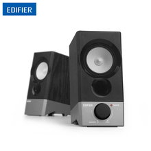 Edifier R19U 2.0 Speaker System Computer Speakers Active USB Bookshelf Speaker Extraordinary Sound Wooden Combined Speakers