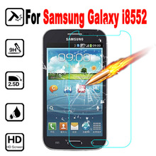 i 8552 Tempered Glass Film For Samsung Galaxy Win duos i8552 Gt-i8552 i869 Screen Protector pelicula de vidro