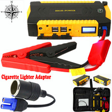 Car Jump Starter Portable Battery Pack Phone Laptop Power Bank Up to 3L Diesel Engine 400A Peak Booster Auto jump Starter Pack