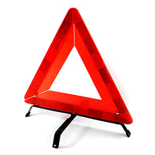 SHEATE Multi-Functional Foldable Triangle Warning Sign Car emergency Rescue Kit super reflective Safety Strong Metal base 650g(China)