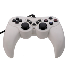 USB Wired Game Controller Gamepad Joypad Joystick USB Computer Game Controller Slim Accessory PC Computer For PSIII