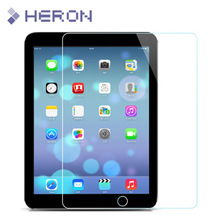 0.3mm Super Thin Tempered Glass for iPad 2 iPad 3 iPad 4 for New iPad High Definition Screen Protecter with Clean tools
