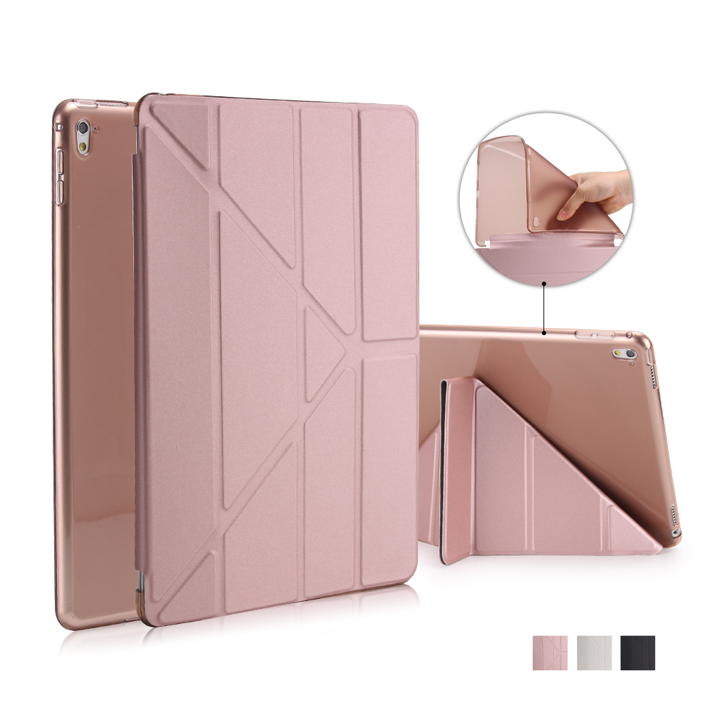 For IPad Pro 9.7 inch Case Stand Soft TPU Silicon Samrt Case Slim PU Leather Cover for Ipad 7 ( Air 3 ) with Auto Sleep/Wake<br><br>Aliexpress