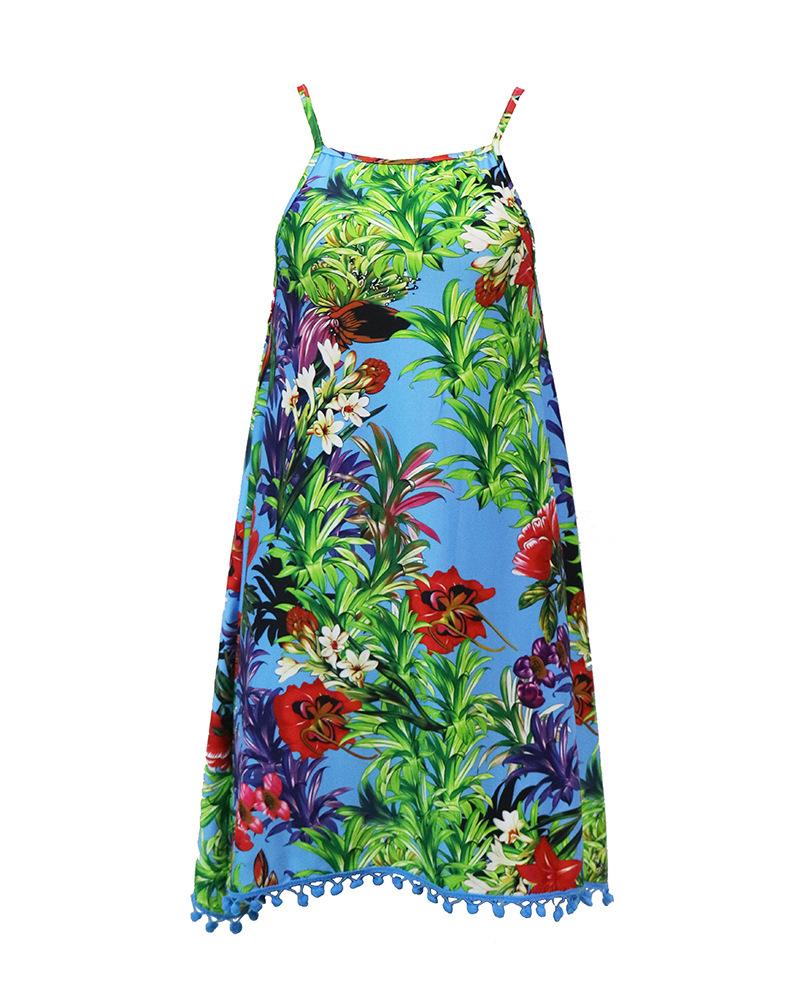 LASPERAL Summer Dress 2017 Female Women Dress Summer Style Vestido De Festa Sundress Plus Size Women Clothing Robe Beach Dress 9