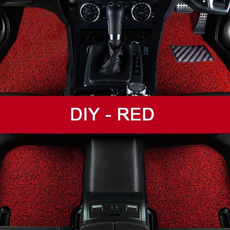 LUNDA DIY fit car floor mats for Mitsubishi Lancer ASX Pajero sport V73 V93 3D car styling all weather carpet floor liner<br><br>Aliexpress