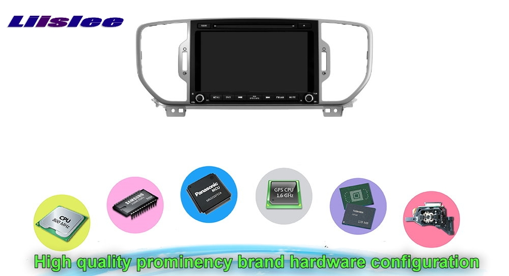 For KIA SPORTAGE 2016 Car Multimedia TV DVD GPS Radio Original Style Navigation Android Advanced Navi Hardware configuration