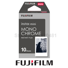 Genuine Fujifilm Fuji Instax Mini Monochrome Mono Film for Fuji instax mini 8 70 8 Plus 90 25 Camera Share SP-1 SP-2