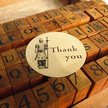 120PCS Thank you Creative design Sticker Labels Seals Gift stickers for DIY packing seals Party Deco