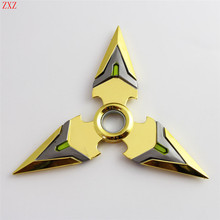 8 styles Rotate the darts genji Zinc alloy 14CM dart model OW Surrounding the game 1/1 toy model A favorite of gamers Collection