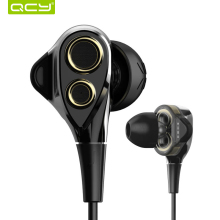 QCY Y1 In-ear Earbuds Built-in Mic 3D Stereo Sound Earphones Deep Bass Quality Music Headsets fone de ouvido for Xiaomi iPhone