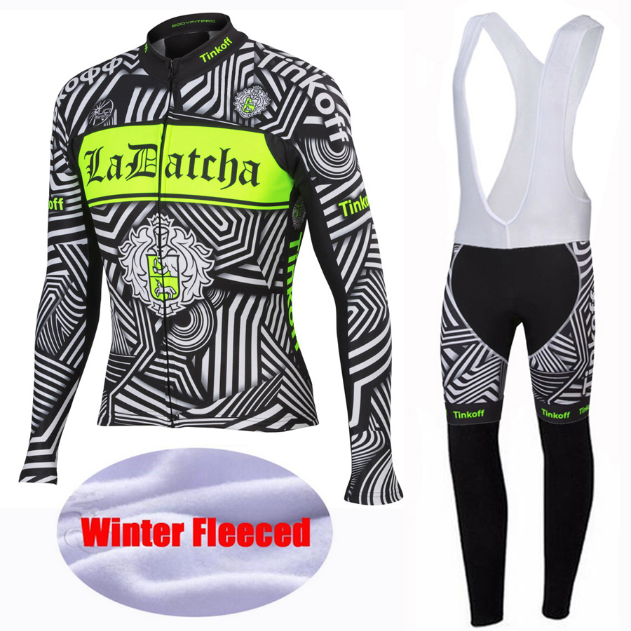2016 Saxo Bank Tinkoff Winter Thermal Fleece Cycling Jerseys/Bicycle Sportswear Ropa Ciclismo Cycling Clothing/ Long Bike Jersey<br>