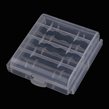 Hot High Quality Battery Storage Box 5 x Hard Plastic Case Holder Storage Box for AA AAA Battery 2 Colors BS