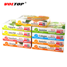 VOLTOP 1pcs Car Air Freshener Perfume Ointment Solid Fragrance Agent Scent Sweet Smell Aromatic For Home Auto Office 12 Smells(China)