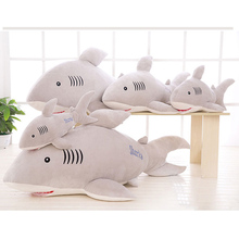 50cm New software dolphin down cotton pillow doll plush toys shark Stuffed toys birthday and Christmas gifts children plush toy