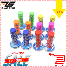 "ZS Racing 7/8"" Motorcycle Hand Grips Universal Handle Bar For Dirt Bike/Pit Bike Used For Motocross Handle Grips(China)"