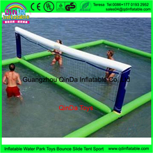 Inflatable Beach Volleyball Court Juegos Inflables Water Inflatable Volleyball Field For Adult Inflatable Water Sports