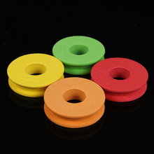100PCS/Lot Outdoor Fishing line Circular Winding plate foam Board Fishing Lure Trace Wire Leader Swivel Tackle